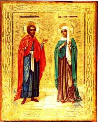 St. Adrian and St. Natalia